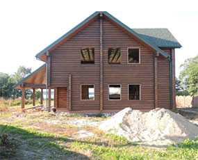 Дом из профилированного бруса проект Дом рыбака - АВТОРИТЕТ ОДО