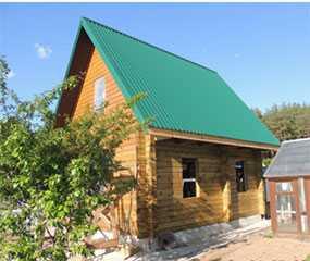 Дом из профилированного бруса проект Дача - АВТОРИТЕТ ОДО