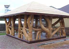 Беседка деревянная Неповторимая - АВТОРИТЕТ ОДО