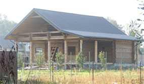 Дом из профилированного бруса проект Дом генерала - АВТОРИТЕТ ОДО