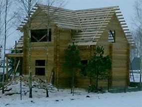 Дом из профилированного бруса проект Дом садовника - АВТОРИТЕТ ОДО