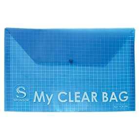 Папка-конверт пластиковая SPONSOR, 180 мкр, формат А4