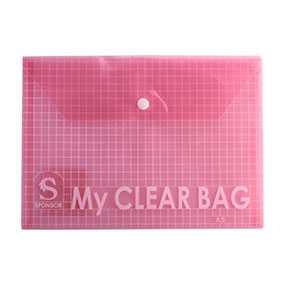Папка-конверт пластиковая SPONSOR, 140 мкр, формат А5