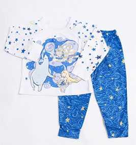 Пижама для девочек (фуфайка, брюки), модель 567710 - МАРК ФОРМЭЛЬ