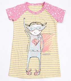 Сорочка ночная для девочек, модель 577710 - МАРК ФОРМЭЛЬ