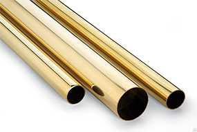 Труба латунная, сплав Л68, мягкая, 160 мм