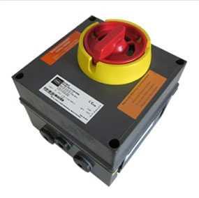 Выключатель сетевой взрывозащищенный REV-3POL ATEX 11kW-25A ON/OFF, артикул 36414 - SYSTEMAIR