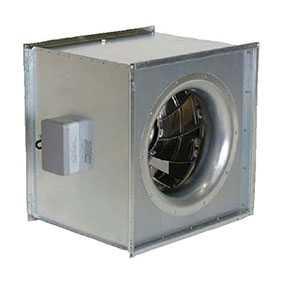 Вентилятор для квадратных каналов KDRD 55 Square Duct Fan, артикул 1316 - SYSTEMAIR