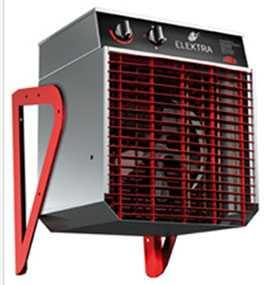 Тепловентилятор ELC633 Fan Heater, артикул 10865 - SYSTEMAIR