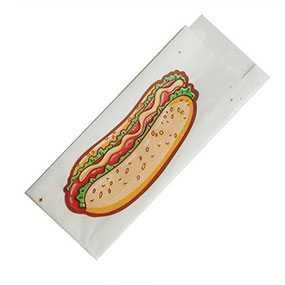 Пакет жировлагостойкий (ЖБ) для хот-дога 80*215 - Продуктория