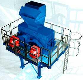 Двухроторная мельница - Albert Hoffmann GmbH