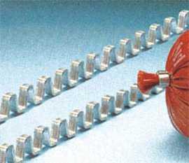 Клипсы ВР 3 из алюминия для колбасных изделий ЗАО Техноклип