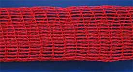 Сетка для копчения формовочная эластичная 125/24 красная