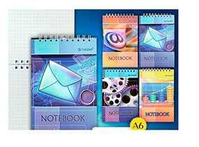 Блокнот А6 60л. notebook