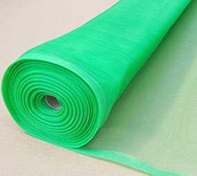 Сетка москитная из полиэтилена, зеленая, ширина 1000 мм длина 25000 мм
