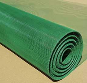 Сетка москитная из стали, зеленая, ширина 1000 мм длина 30000 мм