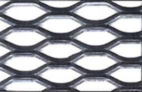 Лист перфорированный тянутый МPE3 45-18/4,0-3,0 мм, 1250*2500 мм, из черной сталь