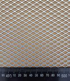Лист перфорированный тянутый MRF 12,0-7,0/1,0-0,7 1000*2000 из оцинкованной стали