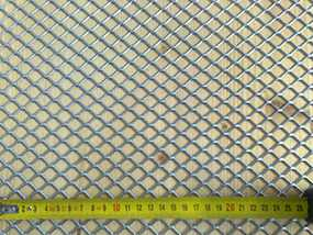 Лист перфорированный тянутый MQF 20,0-15,0/1,7-1,5 1000*2000 из оцинкованной стали