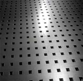 Лист перфорированный Qg 10,0*14,0/1,0 мм, 1000*2000 мм из оцинкованной стали