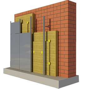 Плита БЕЛТЕП для вентилируемых фасадов марки ВЕНТ 25.