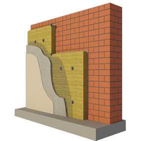 Фасадная плита БЕЛТЕП под штукатурку марки ФАСАД 15