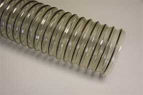 Шланги из ПВХ и полиуретана, армированные стальной спиралью WIRE TPU-H