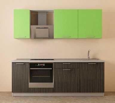 Линейная кухня №1 Первая мебельная фабрика