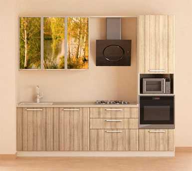 Линейная кухня №3 Первая мебельная фабрика