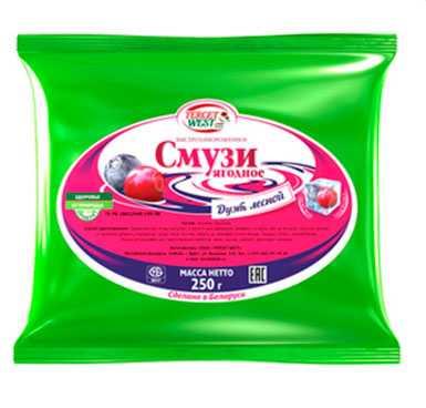 Смесь ягодная быстрозамороженная «Смузи: лесной дуэт» 250г