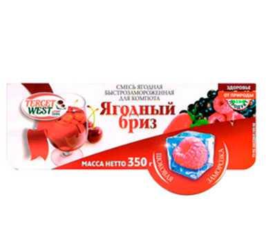 Смесь ягодная быстрозамороженная ЯГОДНЫЙ БРИЗ