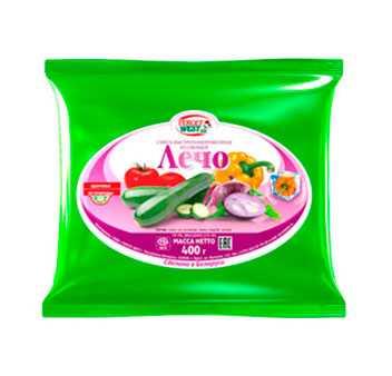 Смесь из овощей быстрозамороженная ЛЕЧО Масса 400 г