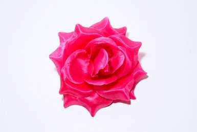 Головка цветочная искусственная Г 001 Роза атласная