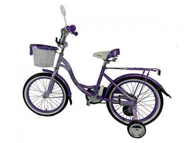 Велосипед для девочек Amiga-001 18' Brillante