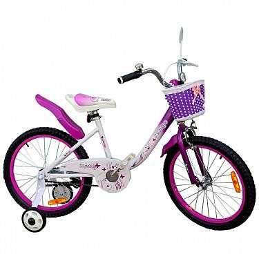 Велосипед детский для девочек Amigo-001 Crystal 20'
