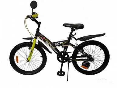 Велосипед детский для мальчика от 6-ти лет Amigo Agent 007 16