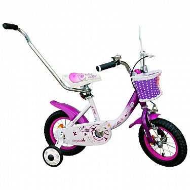 Велосипед детский Amigo-001 12' Crystal, для девочек от 2-х лет