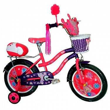 Велосипед детский для девочек Amigo-001 Lovely princess 16'