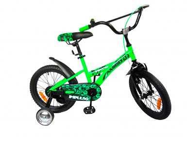 Велосипед для девочек и мальчиков от 4-х лет Amigo Impulso 16'