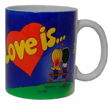 Кружка Love is...