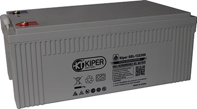 Аккумуляторная батарея Kiper GEL-122300 12V/230Ah 521x269x204(209) ДхШхВ - Kiper (Китай)