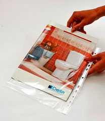 Канцелярские файлы А4-Кашин Пластик
