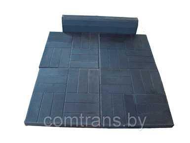 Плитка тротуарная легкая (цветная) П-49.49.5 -В25