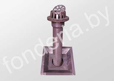 Воронка чугунная водосточная ВЛ-100.450