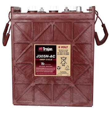 Аккумуляторная батарея тяговая Trojan J305G-AC 6V/315Ah