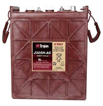 Аккумуляторная батарея тяговая Trojan J305H-AC 6V/360Ah