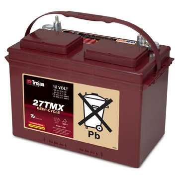 Аккумуляторная батарея тяговая Trojan 27TMX 12V/105Ah