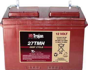 Аккумуляторная батарея тяговая Trojan 27TMH 12V/115Ah