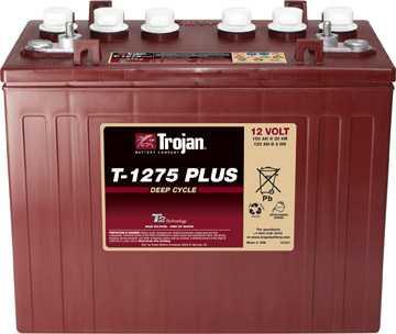 Аккумуляторная батарея тяговая Trojan T-1275+ 12V/150Ah