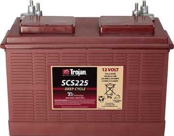 Аккумуляторная батарея тяговая Trojan SCS225 12V/130Ah